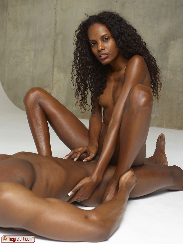 Black girl handjob