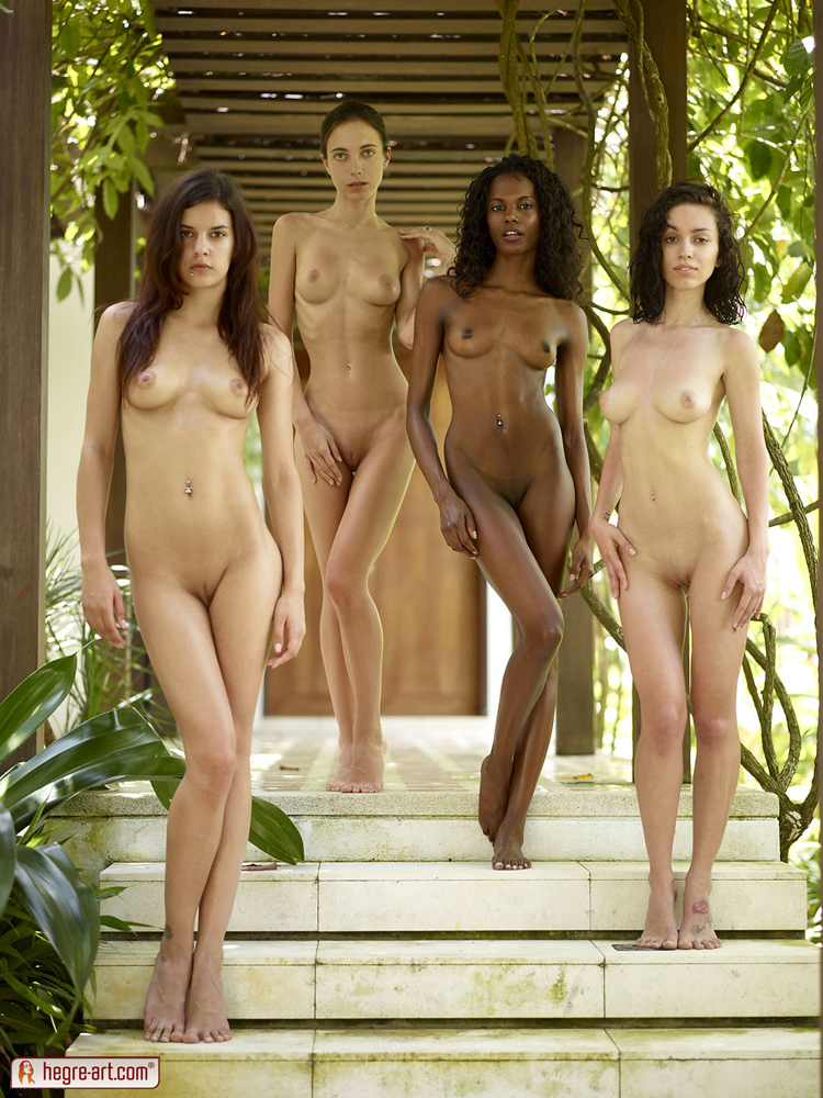 Similar. Group young girl nude