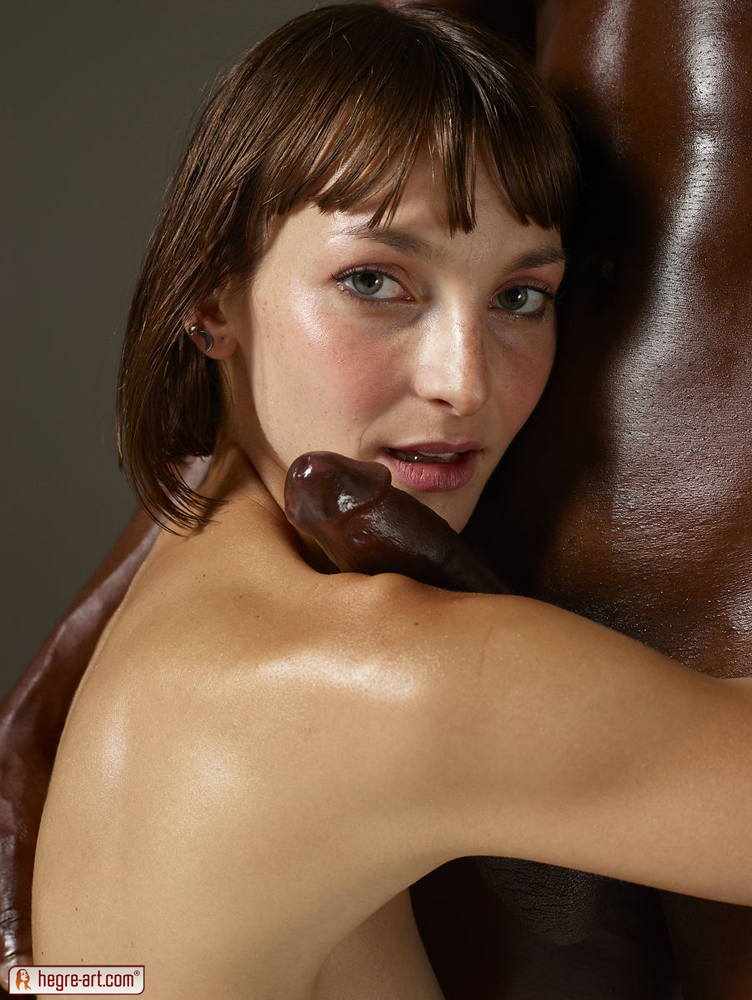 Amateur interracial couple creaming each other pf1 3