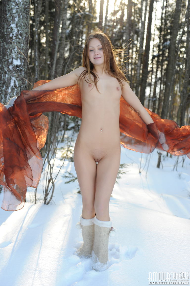 Not family nude snow