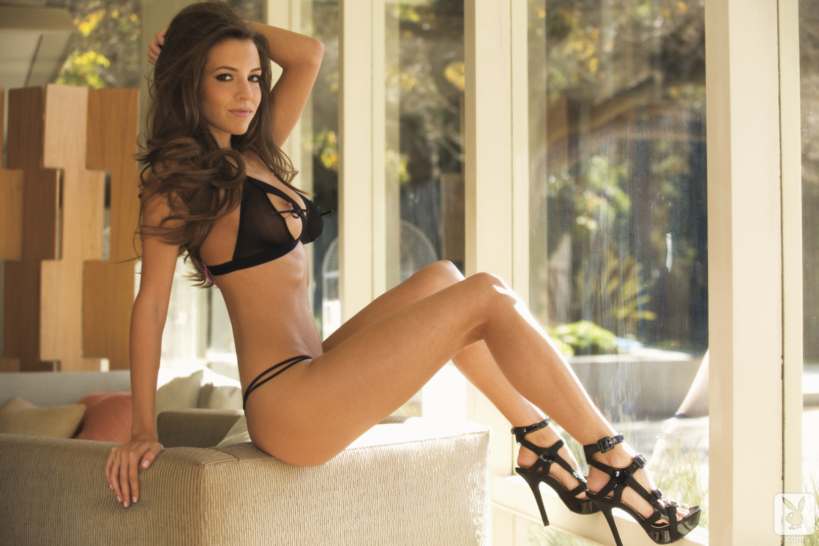 sexy nude playboy brunettes